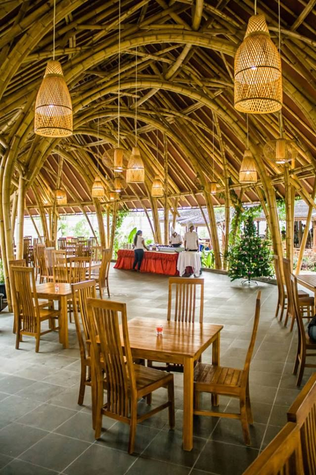 Bamboo House Design Ideas: Image Of: Design Bamboo Cafe