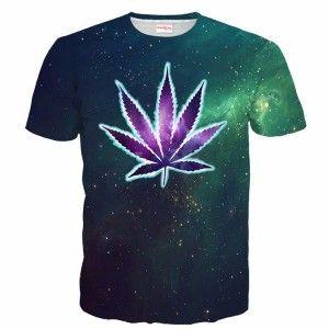 GANDJA GANDJA Koszulka T-Shirt Full Print