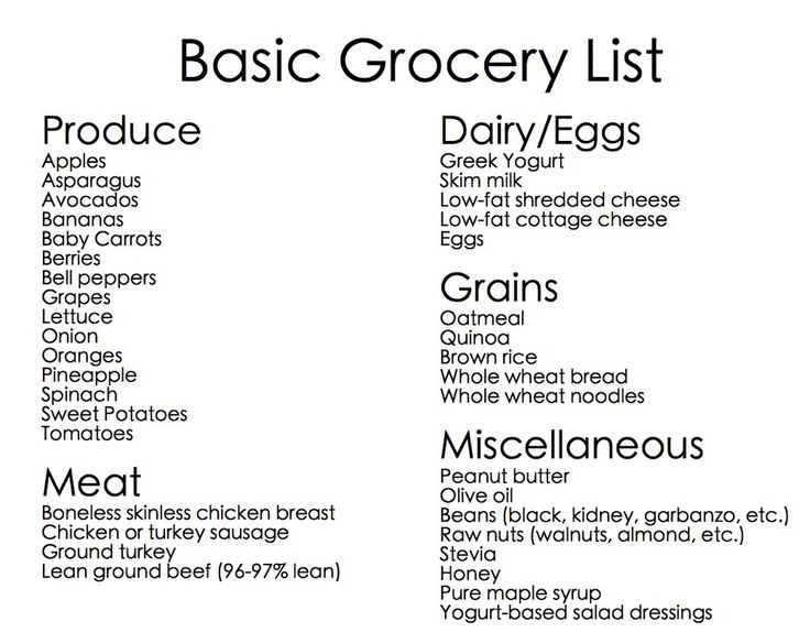 25+ best ideas about Basic Grocery List on Pinterest | Food storage, Produce storage and Storing ...
