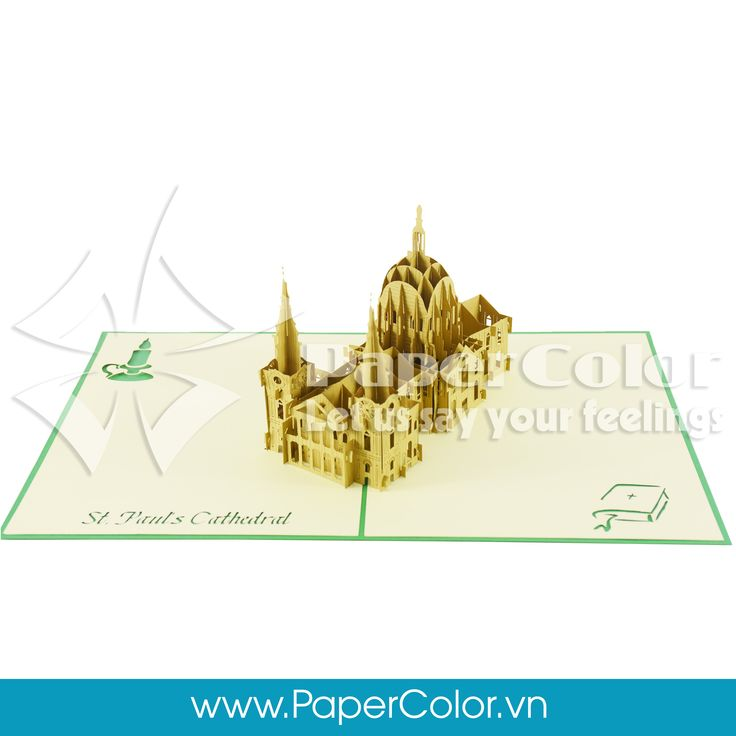 St Paul's Cathedral Give your love's one our 3D Pop up card when a normal card is not enough to express your heart. Let us say your feeling ^^ =>>>> Contact me: Email: yhuynh@papercolor.net Whatsapp: +84 94 222 9707  #popupcard, #3dcard, #wholesale3dcard, #cheappopupcard, #beautiful3Dcard, #lovely3Dpopupcard, #highquality3dcard, #landmarkpopupcard, architecture3dcard,