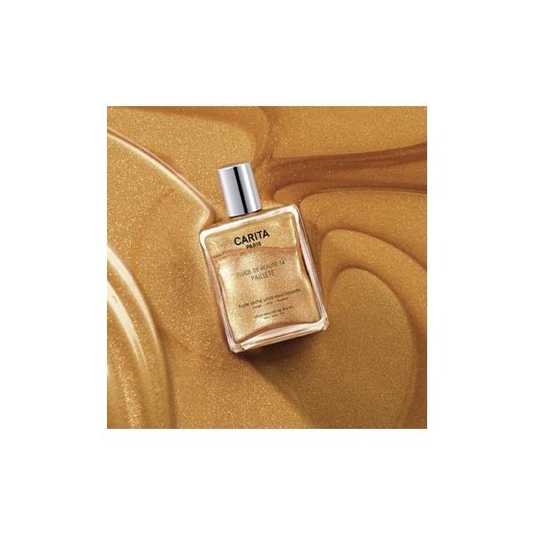 Fluide de Beauté 14 pailleté - Nourishing, comforting and sparkling oil, for face, body and hair.