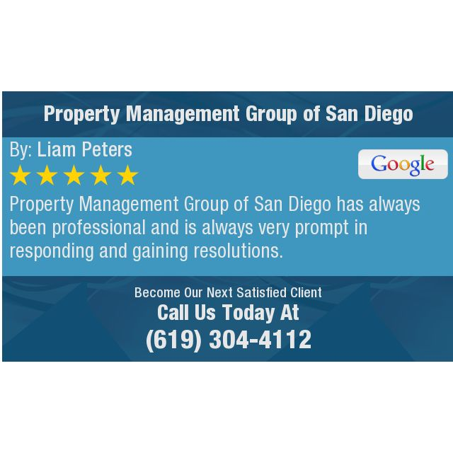 Property Management Group Of San Diego Has Always Been