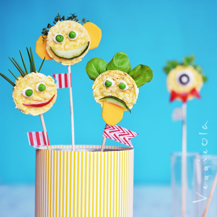 veggieola: Kreatywne kanapki na dzień dziecka