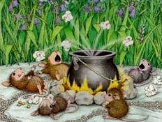 House Mouse Stamps - Kettle Corn