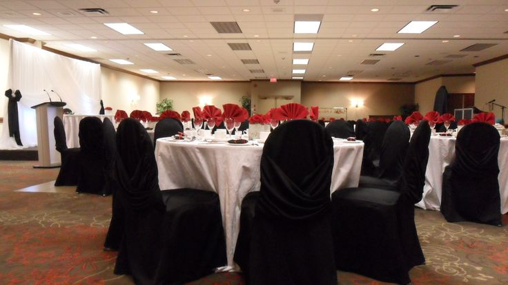 Red & Black Wedding - Holiday Inn Burlington Hotel & Conference Centre