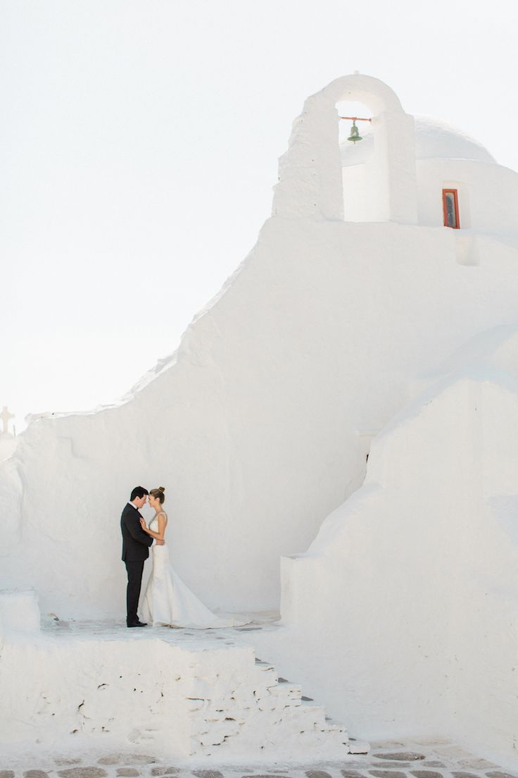 Dreamy Mykonos, Greece wedding: Photography : Anna Roussos | MykonosWedding by Aikaterini | Read More on SMP: http://www.stylemepretty.com/2016/07/22/mykonos-island-greece-destination-wedding/