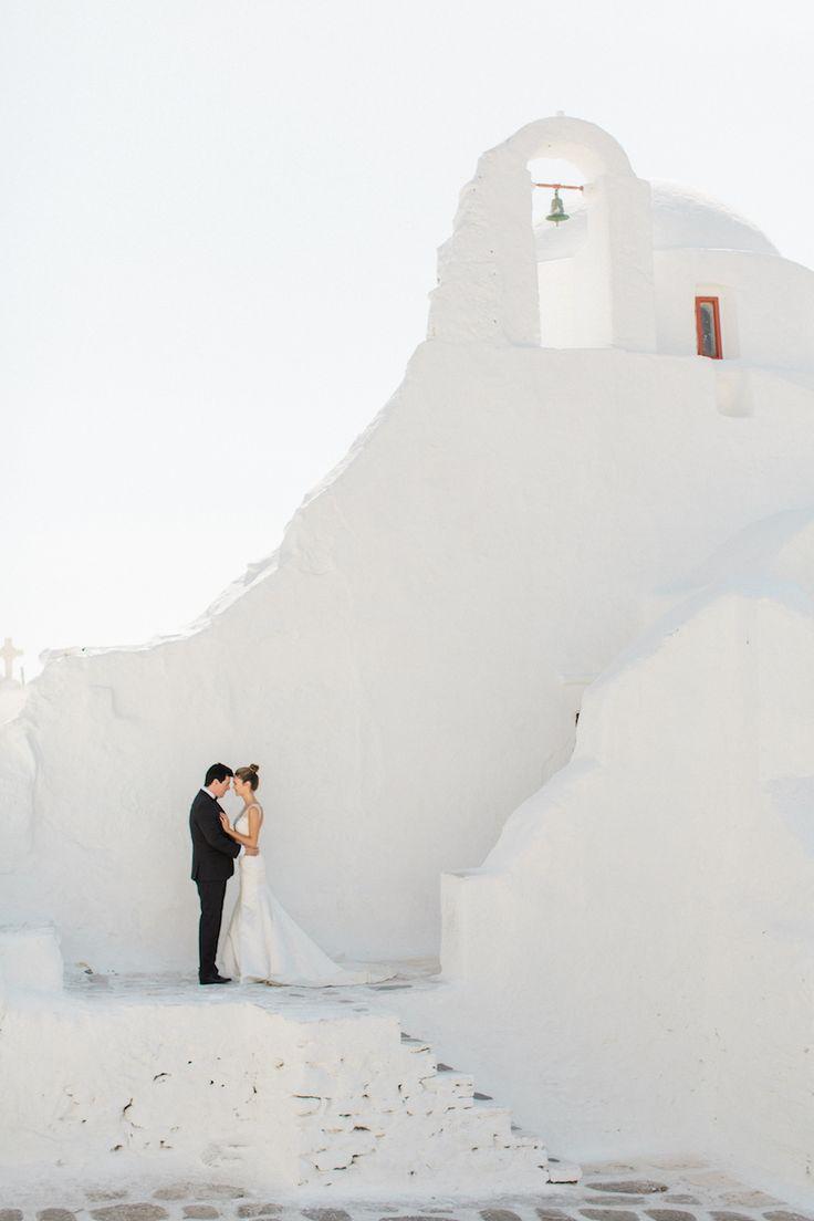 Dreamy Mykonos, Greece wedding: Photography : Anna Roussos | MykonosWedding by Aikaterini | Read More on SMP: http://www.stylemepretty.com/2016/07/22/mykonos-island-greece-destination-wedding/