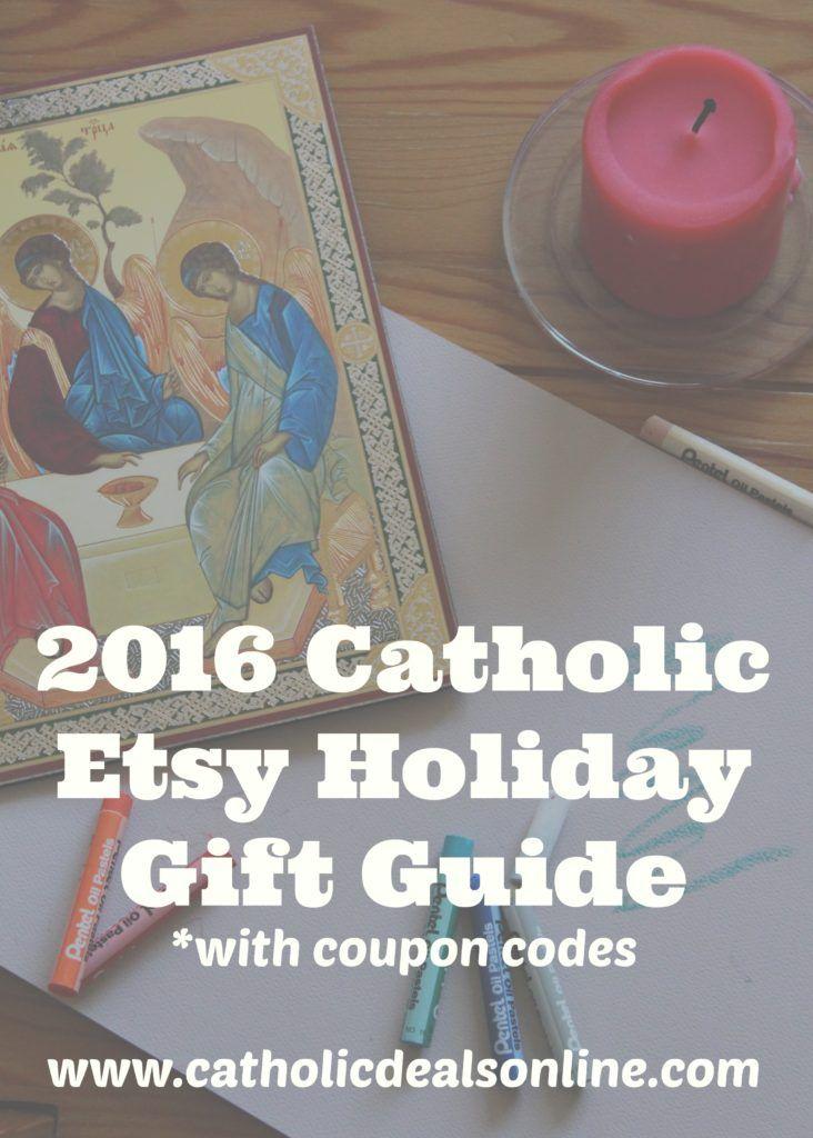 404 best i love being catholic images on pinterest catholic 2016 catholic etsy holiday gift guide with exclusive coupon codes fandeluxe Gallery