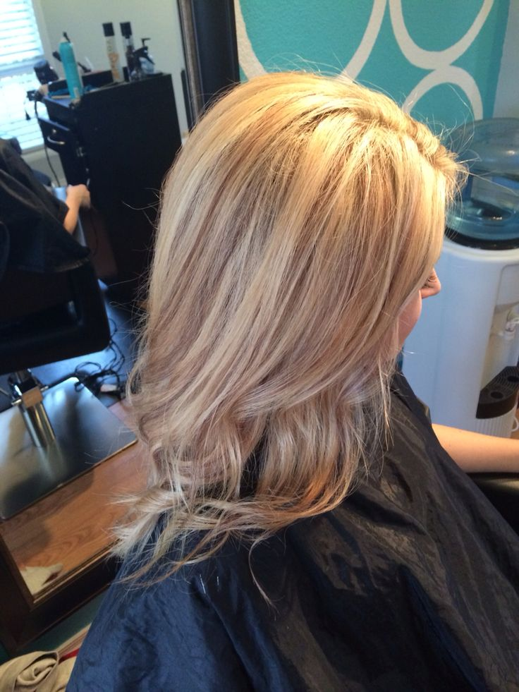 Dimensional Blonde With Baby Lowlights Sandy Blonde Hair