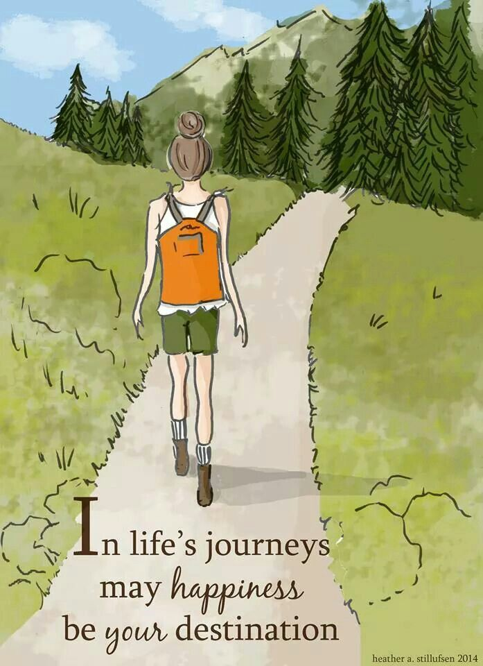 In life's journeys may happiness be your destination. ~ Rose Hill Designs by Heather A Stillufsen