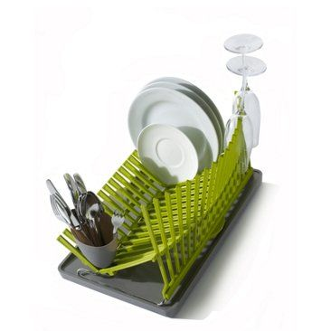 Check out this item at One Kings Lane! High & Dry Dish Rack, Lime