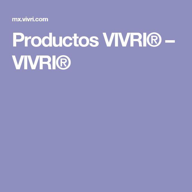 Productos VIVRI® – VIVRI®