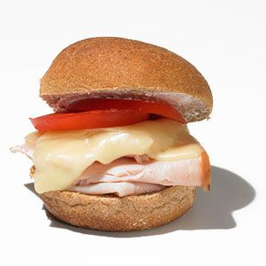 Chris Peitersen's Deli-Style Turkey and Provolone Sliders    Menu note: This recipe is great for using up leftover turkey breast.