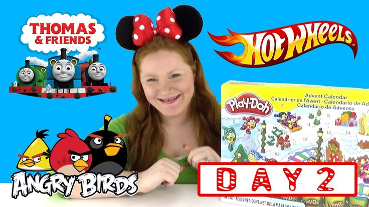 The Toy Bunker presents Toy Advent Calendars from Play-Doh Hot Wheels Thomas & Friends Minis and Angry Birds - DAY 2. We had a lot of fun with day one of our Advent Calendars we couldn't wait to do this video for day 2!  In case you missed day 1 we got the following items.  Play-Doh Advent Calendar - Tree Stamp Angry Birds Advent Calendar - Bird Launcher Hot Wheels Advent Calendar - Italian Race Car Thomas and Friends Minis Advent Calendar - Salty The Train  Make sure to check back tomorrow…