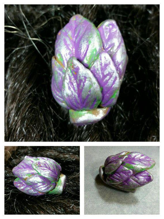 Etherische olie Clay verspreiden Dread parel / dread sloten / dread falls / vlechten / aromatherapie / handgemaakte / gratis pipet / mosaic blad patroon