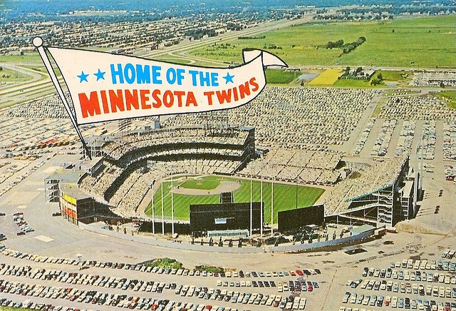 Metropolitan Stadium - Bloomington, MN by azzurrolou, via Flickr