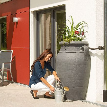 Attractive decorative water butts are available at SVCwater Ltd., you can easily order butts or tanks for your commercial and residential areas from us. We provide quality products and equipments.