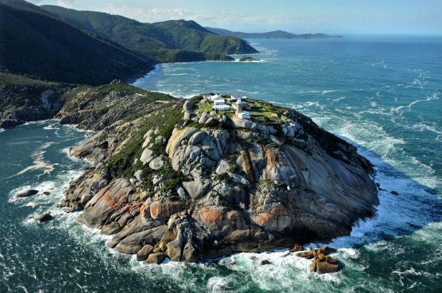 Wilsons Promontory Lighthouse, Victoria: Wilsons Promontory is the go-to spot for many Victorian bushwalkers and, at its southern end, just a few kilometres from the southernmost tip of the Australian mainland, sits this 19-metre-high lighthouse. It can be reached along a 20-kilometre inland walking track, or on a longer, more scenic coastal approach through Sealers Cove and Waterloo Bay that's best broken into a couple of days.