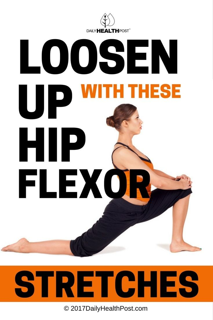 Loosen Up with These 12 Hip Flexor Stretches via @dailyhealthpost