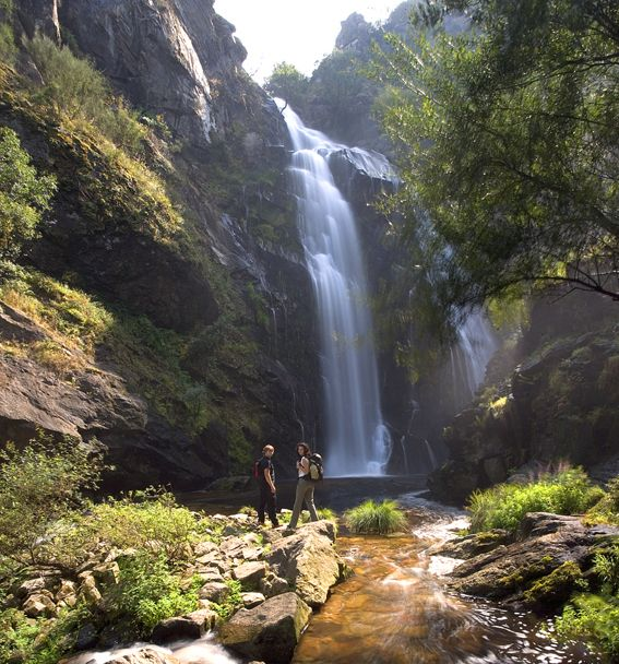 Cascada de A Toxa (Silleda, Pontevedra) #Galicia