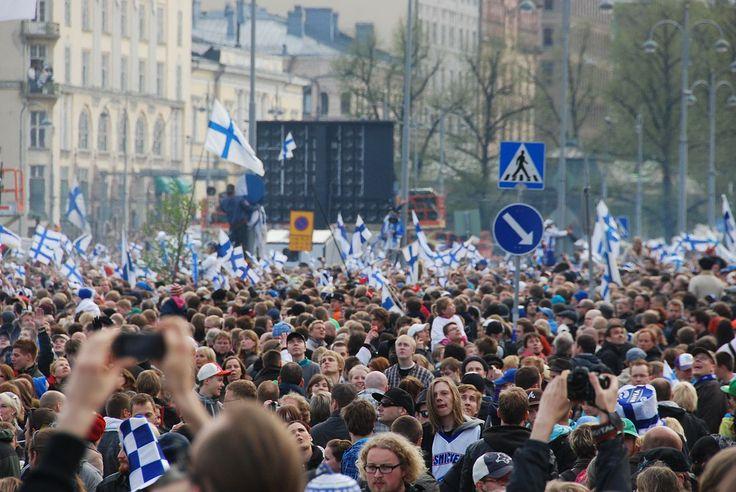 Ice Hockey celebration Helsinki 2011 - Jääkiekon maailmanmestaruuskilpailut – Wikipedia