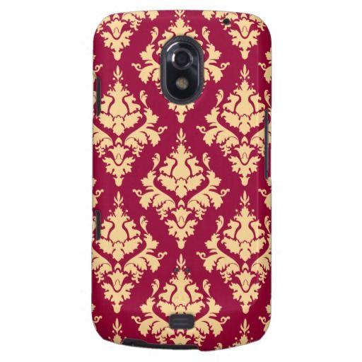 Vintage pattern samsung galaxy nexus covers