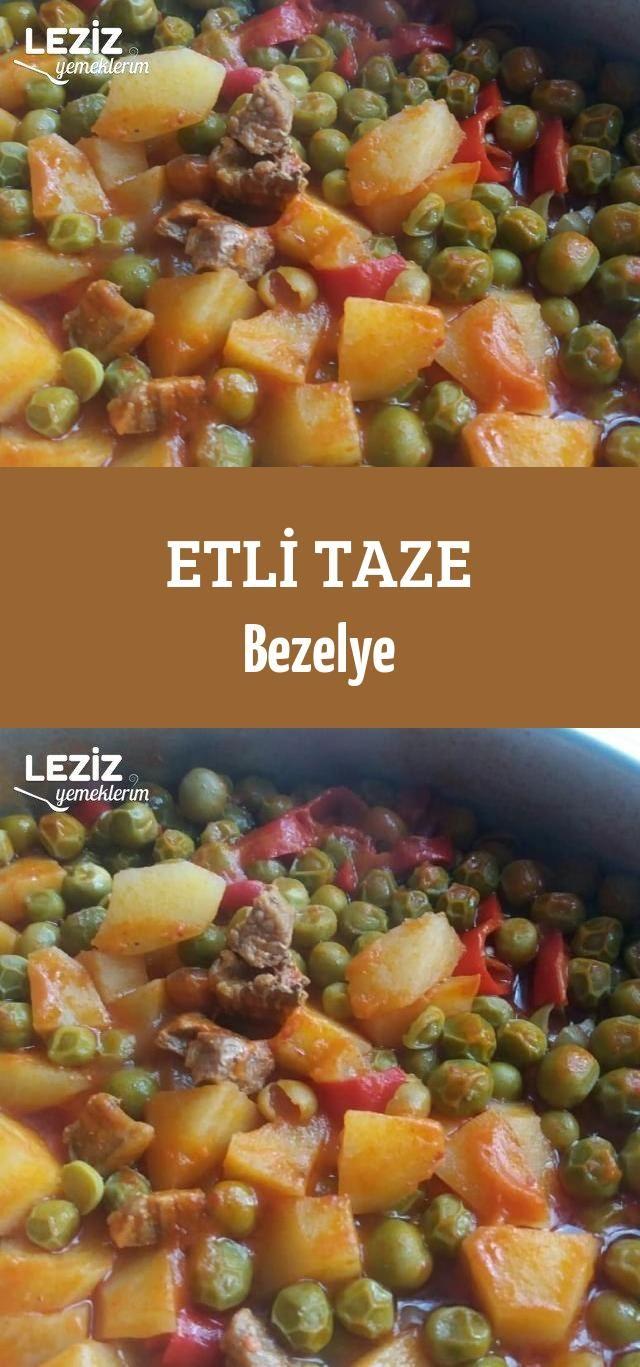 Etli Taze Bezelye