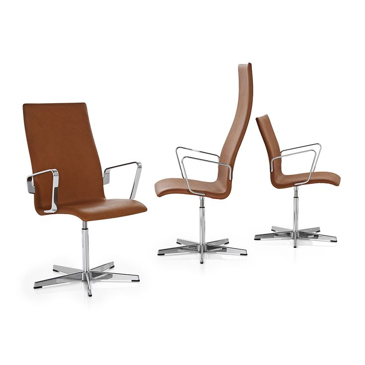 Shop SUITE NY for the original Oxford Chair designed by Arne Jacobsen for Fritz Hansen and more Danish design and high-backed designer office chairs.