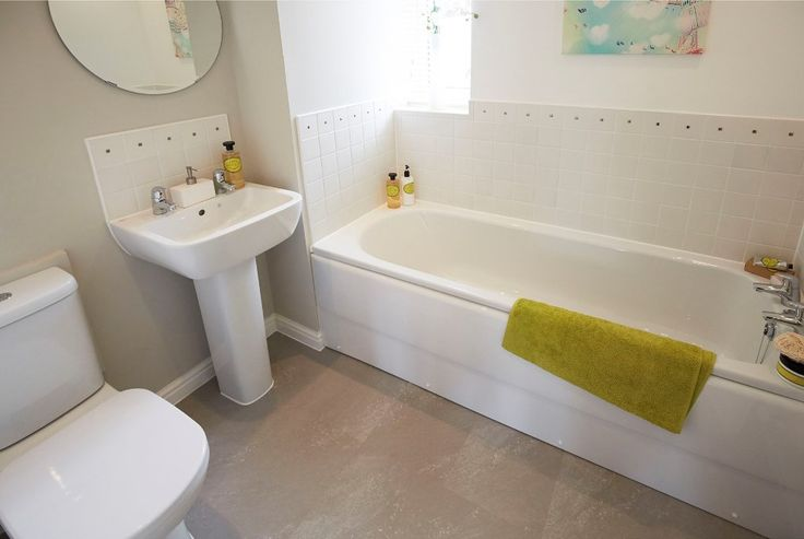 Charming Find This Pin And More On Bathroom Settings By Persimmon Homes.