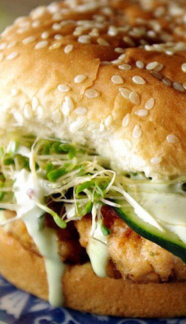 California Roll Burger (Salmon)