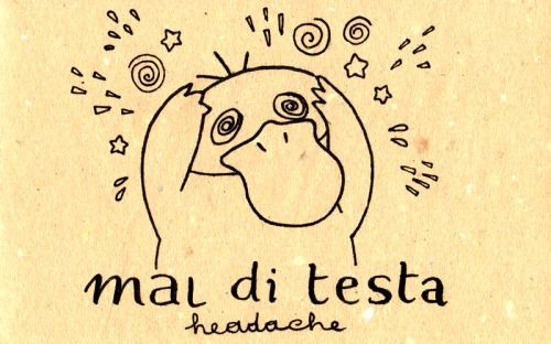 Learning Italian Language ~ Mal di testa (Headache) IFHN