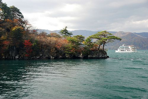 Lago towada , en ala isla de Honshu