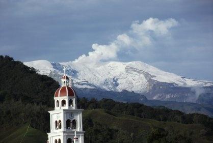 Nevado del Ruiz desde Villahermosa (Tolima)