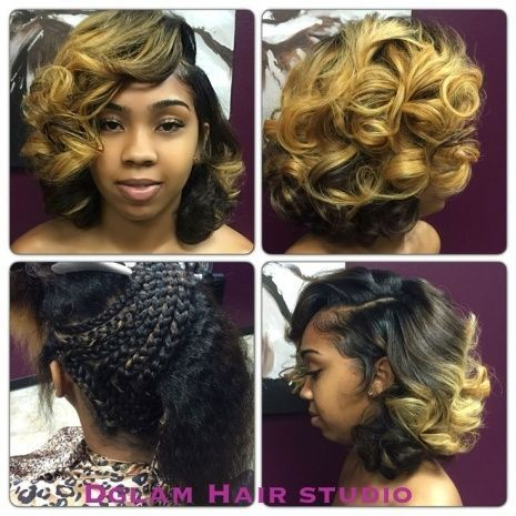 Quick Weave Medium Length Hairstyles - Women have the urge to have their hair looking gorgeous each and every day and that