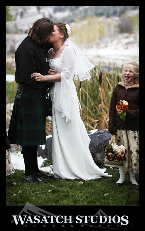 Scottish wedding ceremony