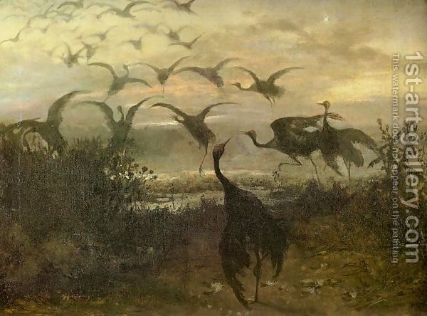 Jozef Chelmonski: Flight of the Cranes