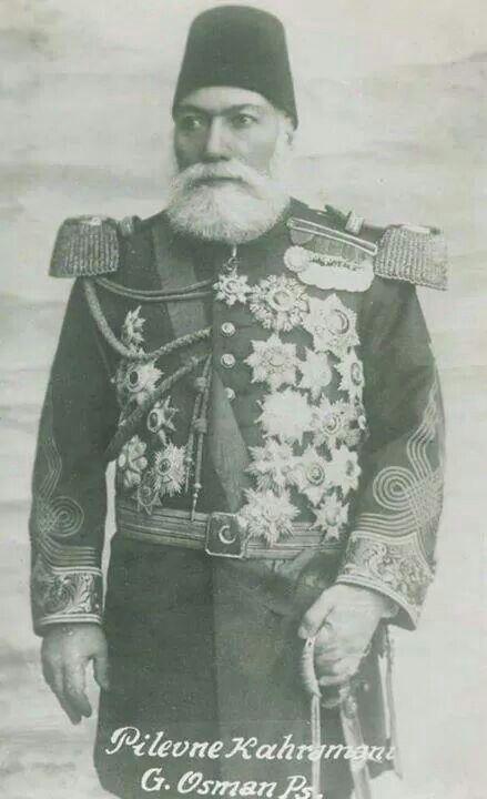 An Ottoman General;  Gazi Osman Pacha