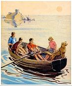 Enid Blyton - The Famous Five I loved this series and The Secret Seven; perhaps this fostered my current love of mysteries.