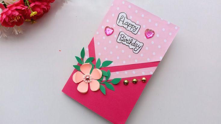 beautiful birthday greeting card idea  thiệp