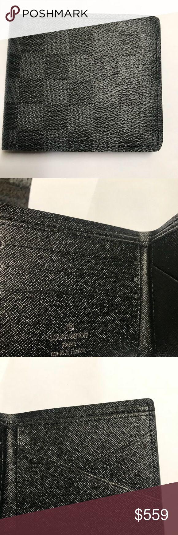 Louis Vuitton black men wallet New with box Louis Vuitton Bags Wallets