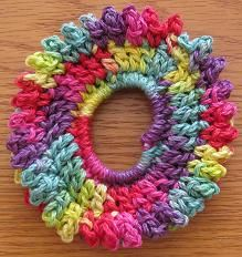 Nina's At My House: Camille's Picot Scrunchie
