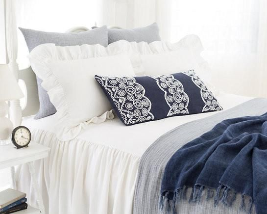Wilton Bedspread from Pine Cone Hill.