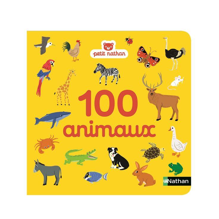 Un imagier adapté aux tout-petits 100 animaux regroupés par thème : la ferme, la forêt, dans la mer, la savane, la banquise, les petites bêtes... Idéal pour partir à la découverte des animaux et favoriser l'acquisition du langage !