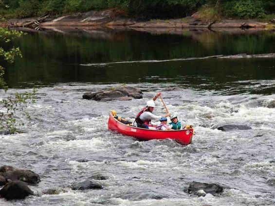 Family Friendly Whitewater Canoe Trips!