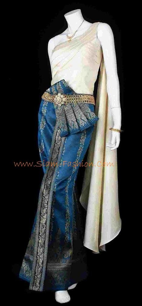 I need a Thai outfit.. love this one!