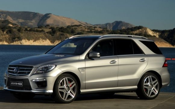 Safest SUVs in the Year of 2015-Mercedes-benz M Class