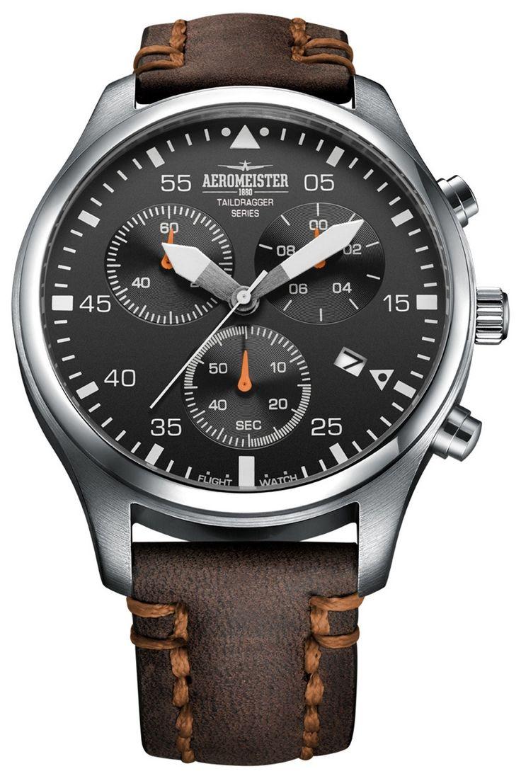 Aeromeister AM8013 Taildragger Chronograaf horloge