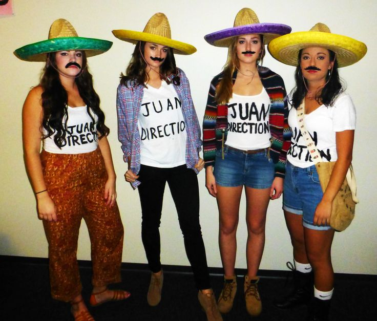 Wish i was going to be here for halloween, Juan Direction aka best Halloween costume ever.