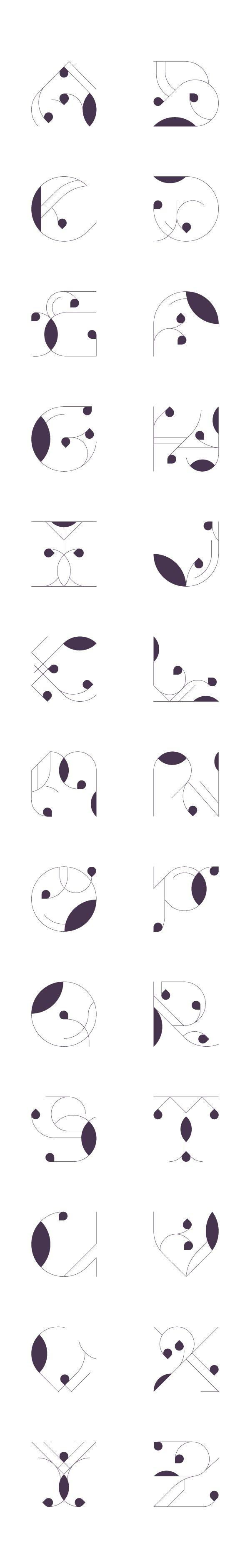 Molde de letra 1