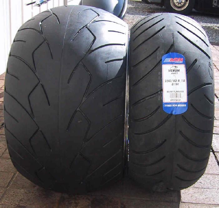 Yamaha Roadstar Tire Sizes